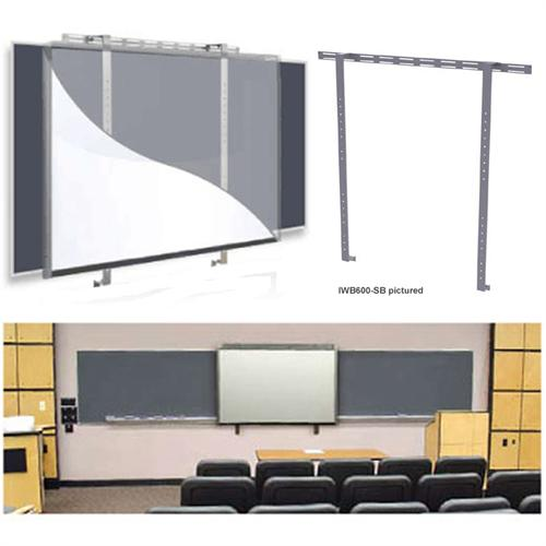 View a larger image of the Peerless Dedicated Whiteboard Mount (Attaches Over Existing Markerboards & Chalkboards) IWB600-2SB.