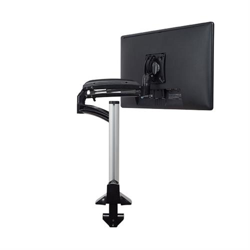 View a large image of the Chief K1C120BXRH Kontour Reduced Height Single Screen Dynamic Column Desk Mount here.