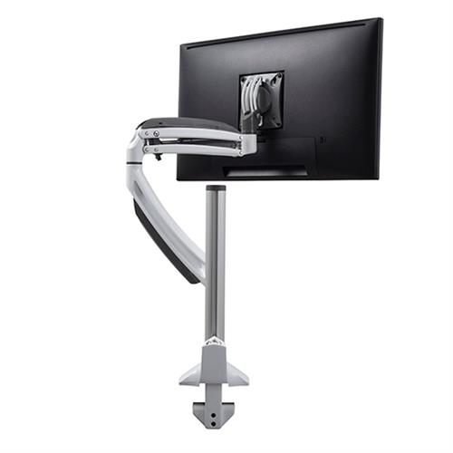 View a large image of the Chief K1C120W White Kontour Single Screen Dynamic Column Desk Mount here.