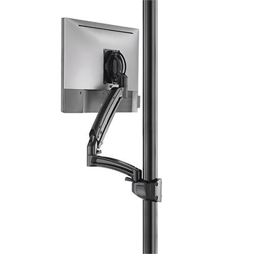 View a large image of the Chief Kontour Dynamic Pole Mount Reduced Height, 1 Monitor, BLK, K1P120BXRH here.