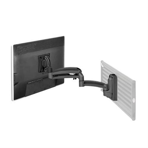 View a larger image of the Chief Kontour Single Screen Dynamic Slat Wall Mount (Black) K1S120B.