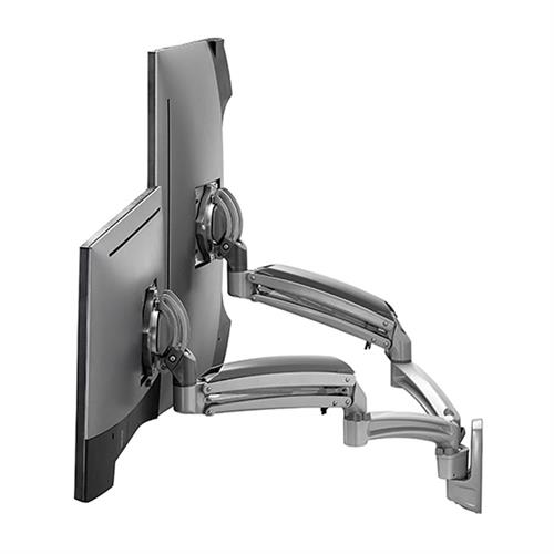 View a large image of the Chief K1W220SXRH Kontour Reduced Height Dual Screen Dynamic Wall Mount here.