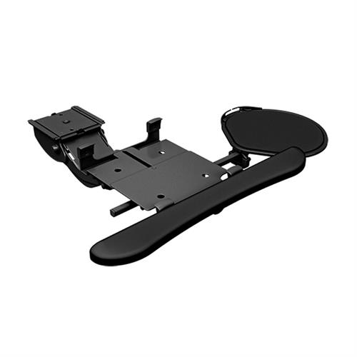 View a large image of the Chief KBD-MINI-19C Mini Arm Keyboard Clamp Swivel Mouse Tray here.