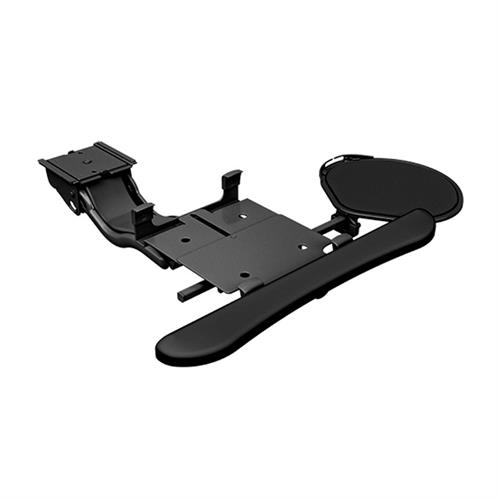 View a large image of the Chief KBD-S2S-19C Sit Stand Arm Keyboard Clamp Swivel Mouse Tray here.