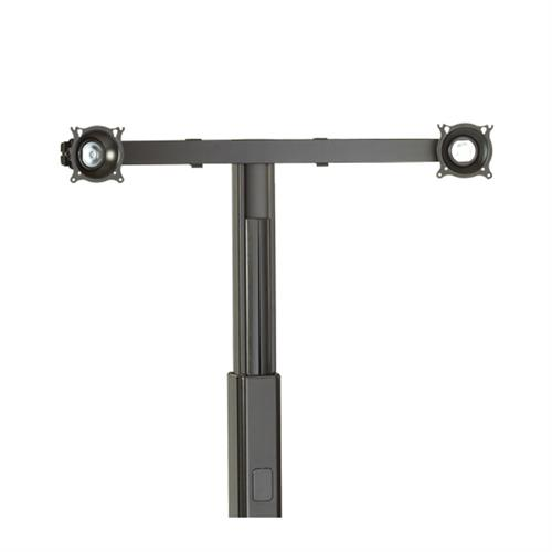 View a large image of the Chief Widescreen Dual Monitor Mount for Carts or Stands KFA225B here.