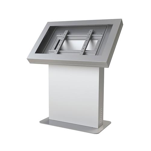 View a large image of the Peerless Indoor Landscape Kiosk Enclosure for 46 inch Screens Silver KIL546-S here.