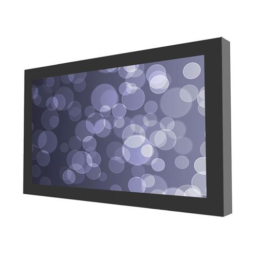 View a larger image of the Peerless Indoor Landscape Wall Kiosk Enclosure for 43 inch Screens (Black) KIL643.