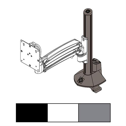 View a larger image of the Chief KXC K1C K2C Column Desk Clamp Base Kit, KRA245B, KRA245S, KRA245W.