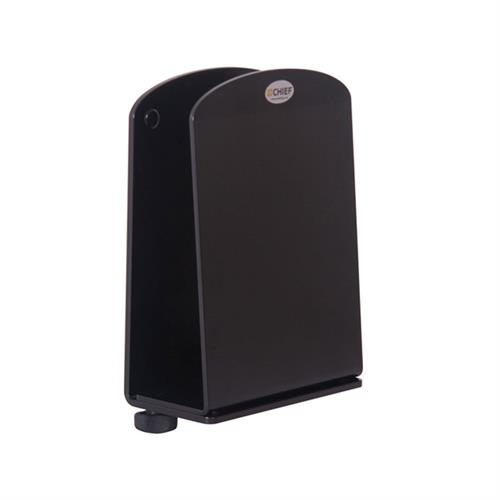 View a large image of the Chief Adjustable Slimline CPU Desk or Wall Mount KSA1023B here.