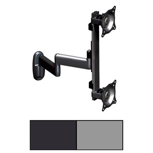 View a large image of the Chief K-Series Vertical Dual Arm Wall Mount for Two 10-30 inch Screens KWD230 here.