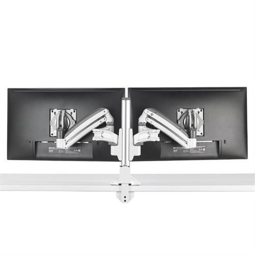 View a larger image of the Chief Kontour Slim Dynamic Column Desk Mount, 2 Monitors, White, KXC220W.