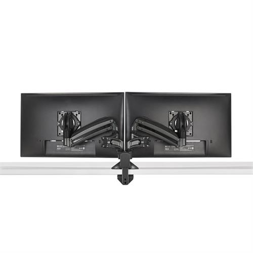 View a larger image of the Chief Kontour Slim Dynamic Desk Mount, 2 Monitors, Black, KXD220B.