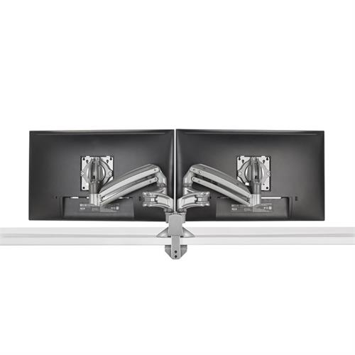 View a larger image of the Chief Kontour Slim Dynamic Desk Mount, 2 Monitors, Silver, KXD220S.
