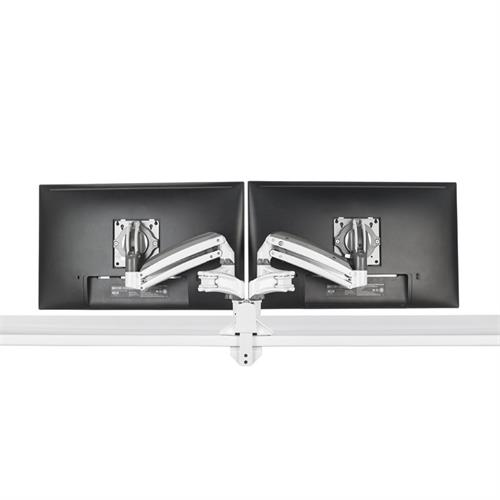 View a larger image of the Chief Kontour Slim Dynamic Desk Mount, 2 Monitors, White, KXD220W.