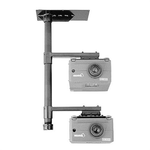 View a large image of the Chief Ceiling Mounted Multiple Projector Stacking System LCD2C here.