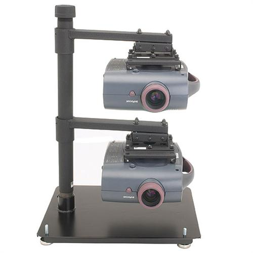 View a large image of the Chief Table Stand Multiple Projector Stacking System LCD2TS here.