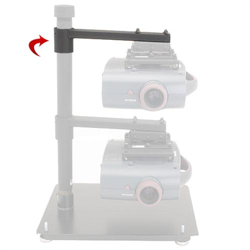 View a large image of the Chief Projector Arm for the Multiple Projector Stacking System LCDPA here.