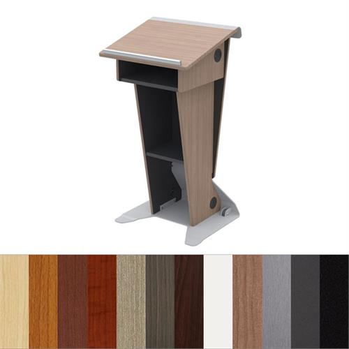 View a larger image of the Audio Visual Furniture Slim Presentation Lectern, LE222.