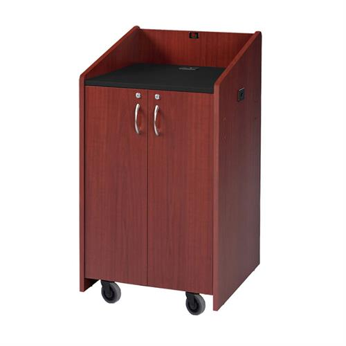 View a large image of the Audio Visual Furniture Clearance Dark Cherry Lectern LE3050-DC here.