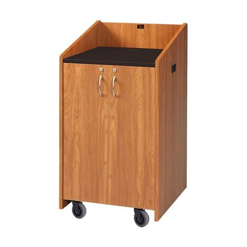 View a large image of the Audio Visual Furniture Clearance Medium Cherry Lectern LE3050-MC here.