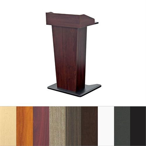 View a large image of the Audio Visual Furniture Slim Lectern LE402 here.