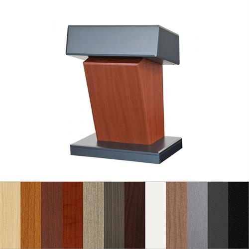 View a larger image of the Audio Visual Furniture Presidential Lectern, LEX112.