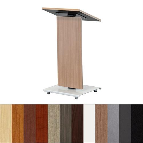 View a larger image of the Audio Visual Furniture LEXYZ20-L Linear Lectern (Various Finishes).