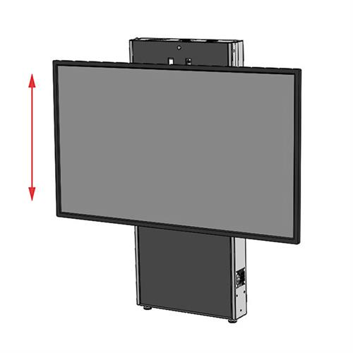 View a large image of the Audio Visual Furniture LFT7000WM-XL Extra Large Wall Mounted Electric Lift Stand here.