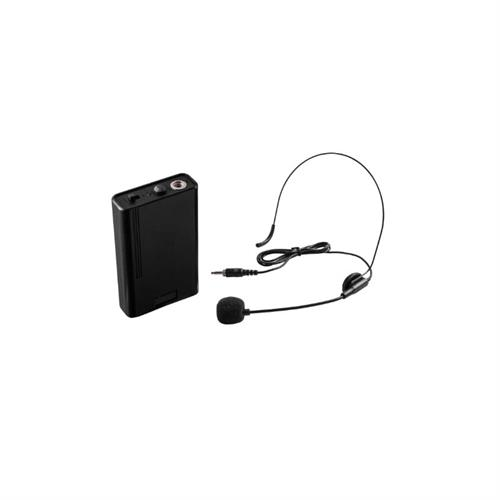 View a large image of the Oklahoma Sound Wireless Headset Microphone (Black) LWM-7 here.