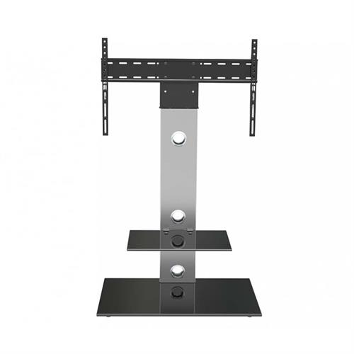 View a large image of the AVF Lesina Pedestal Stand with 65 inch TV Mount Silver FSL700LES-A here.