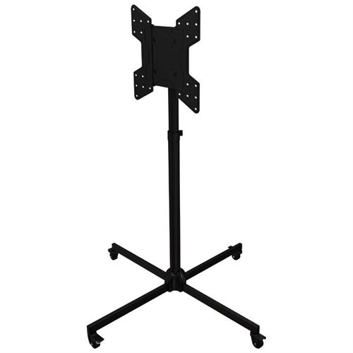 View a larger image of the Crimson Collapsible Mobile Floor Cart for 32 to 63 inch Screens (Black) M46P.