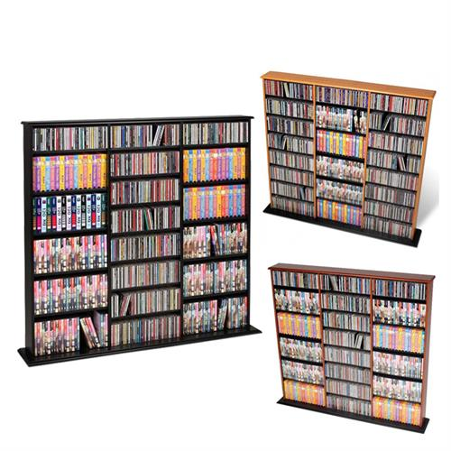 View a larger image of the Prepac Triple CD DVD VHS Tower (Various Finishes) MA-0960.
