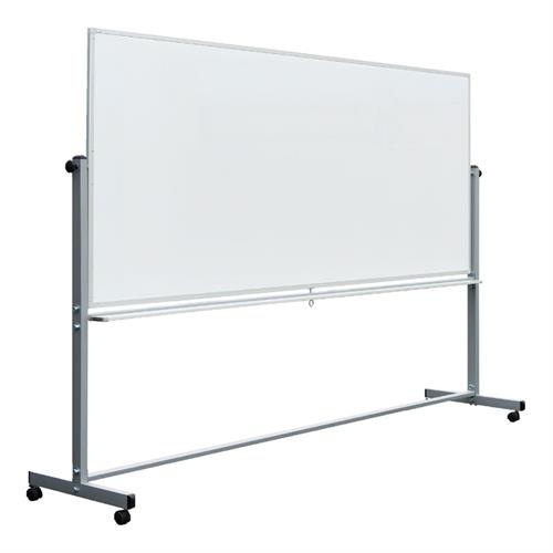 View a large image of the Luxor Double-Sided Magnetic White Board 96x40 MB9640WW here.