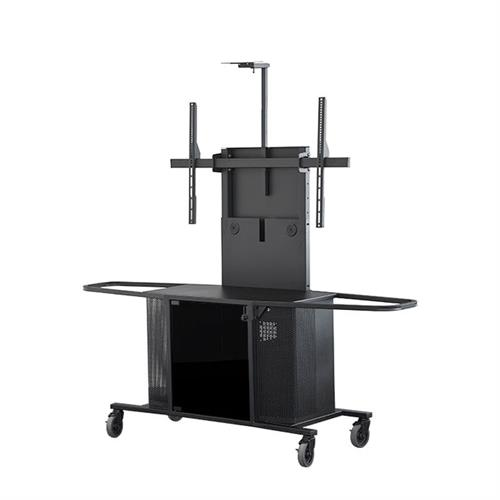 View a large image of the Audio Visual Furniture Extra Large Display Cart MC1000-XL PACKAGE J here.