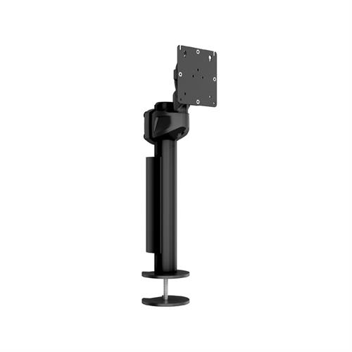 View a larger image of the Middle Atlantic Single Monitor Mount (Pivot, Grommet) MM-P-100-BK.