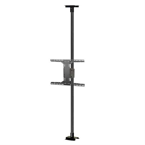 View a large image of the Peerless Modular Series Floor-to-Ceiling TV Mount Kit Black MOD-FCSKIT300-B here.