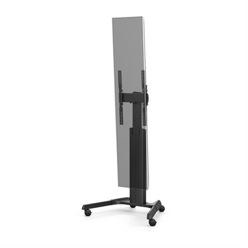 View a large image of the Chief Fusion Manual Height Adjustable Stretch Display Cart MPAUBSP here.