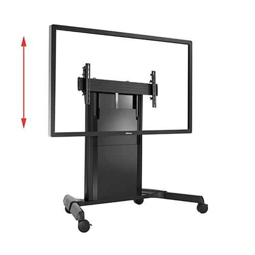 View a large image of the Chief LPD1U Large Fusion Dynamic Height Adjustable Mobile Cart here.