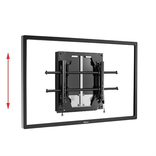 View a large image of the Chief LSD1U Large Fusion Dynamic Height Adjustable Wall Mount here.
