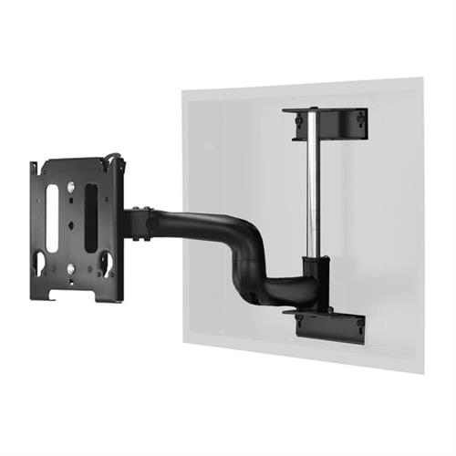 View a large image of the Chief Swing Arm Flat Panel In-Wall Mount MWRIW6000B MWRIWUB here.