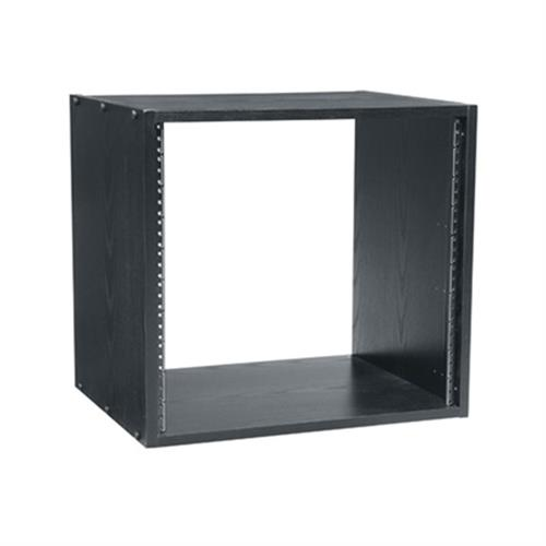 View a larger image of the Middle Atlantic Laminate Rack (12RU, 28 D, Black) BRK12-28.