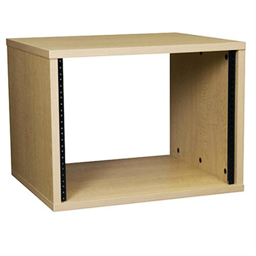 View a large image of the Middle Atlantic Laminate Rack (8RU, 22 D, Maple) MBRK8-22.