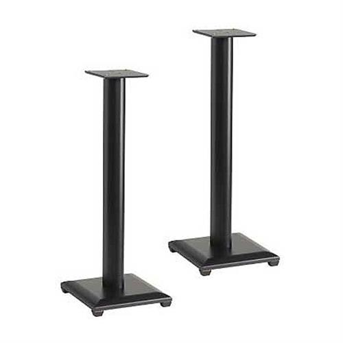 View a larger image of the Sanus Natural Foundations 30 inch Speaker Stands (Black) NF30B.