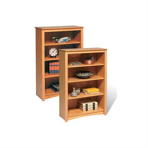 View a larger image of the Prepac Sonoma Collection 4-Shelf Bookcase (Oak) ODL-3248.