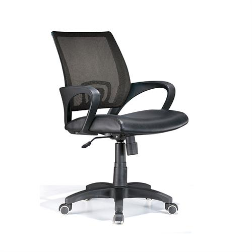 View a larger image of the LumiSource Officer Series Office Chair (Black) OFC-OFFCR BK.