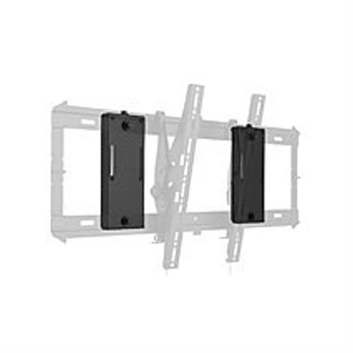 View a large image of the Chief PAC392B FIT Series Flat Panel Slat Wall Accessory here.