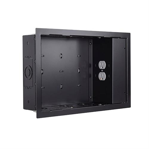 View a large image of the Chief PAC525FBP2 In-Wall Storage Box with 2 Receptacle Filter & Surge here.