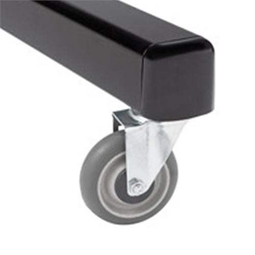 View a larger image of the Chief Heavy-Duty Outdoor Casters for Mobile Carts (Black) PAC775.
