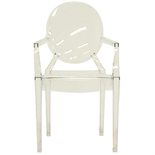 View a larger image of the Wholesale Interiors Set of Two Clear Acrylic Arm Chairs (Clear) PC-449-CLEAR.