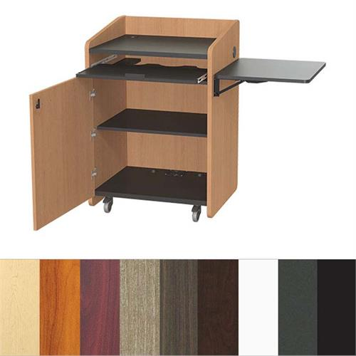 View a larger image of the Audio Visual Furniture Economy Podium PD3003.